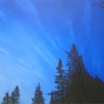 Levin Tahti 50 x 40 cm Oil, acrylic & ink on canvas. 2005