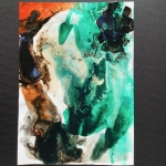Alex Gough, Wilderness in Paint 154, 21 x 29.5cm, 2020