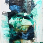 Alex Gough, Wilderness in Paint 171, 96 x 152.5cm, 2019