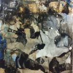 Alex Gough, Wilderness in Paint 47, 152.5 x 161cm, 2017b