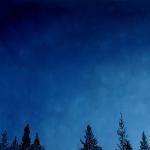 Lapland 150 x 140 cm Oil, acrylic & ink on canvas. 2005