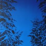 Ilta 85 x 185 cm Oil, acrylic & ink on canvas. 2007
