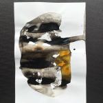 Alex Gough, Wilderness in Paint 165, 21 x 29.5cm, 2020