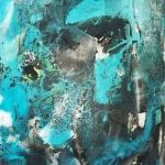 Alex Gough, Wilderness in Paint 55, 60 x 80cm, 2017