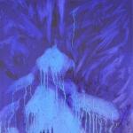 Snow  40 x 30 cm Oil on canvas 2009