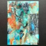 Alex Gough, Wilderness in Paint 158, 21 x 29.5cm, 2020