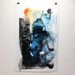 Alex Gough, Wilderness in Paint 176, 100 x 152.5cm, 2018