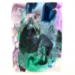 Alex Gough, Wilderness in Paint 77, 21 x 29.5cm, 2020
