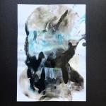 Alex Gough, Wilderness in Paint 127, 21 x 29.5cm, 2019