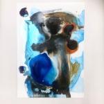 Alex Gough, Wilderness in Paint 86, 42 x 59.4cm, 2019