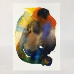 Alex Gough, Wilderness in Paint 114, 42 x 59.4cm, 2019