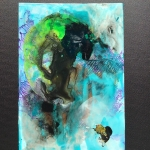 Alex Gough, Wilderness in Paint 136, 21 x 29.5cm, 2020