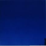 Blue 50 x 50 cm Oil, acrylic & ink on board 2004