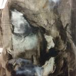 Alex Gough, Wilderness in Paint 43, 100 x 152.5cm, 2017