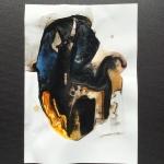 Alex Gough, Wilderness in Paint 167, 21 x 29.5cm, 2020