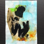 Alex Gough, Wilderness in Paint 168, 21 x 29.5cm, 2020