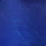 Blue Summer 140 x 140 cm Oil, acrylic & ink on board 2004