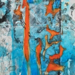 Alex Gough, Wilderness in Paint 67, 21 x 29.5cm, 2018