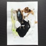 Alex Gough, Wilderness in Paint 159, 21 x 29.5cm, 2020