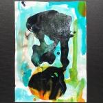 Alex Gough ,Wilderness in Paint 130, 21 x 29.5cm, 2020