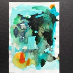 Alex Gough, Wilderness in Paint 156, 21 x 29.5cm, 2020