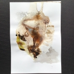 Alex Gough, Wilderness in Paint 166, 21 x 29.5cm, 2020