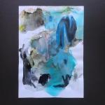 Alex Gough, Wilderness in Paint 129, 21 x 29.5cm, 2019