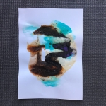 Alex Gough, Wilderness in Paint 170, 21 x 29.5cm, 2020