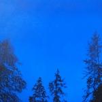 Tammikuu 110 x 70 cm Oil, Acrylic & ink on canvas. 2007
