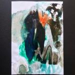 Alex Gough, Wilderness in Paint 126, 21 x 29.5cm, 2020