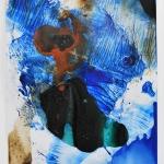 Alex Gough, Wilderness in Paint 72, 21 x 29.5cm, 2018